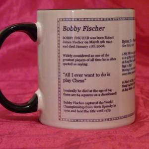 Chess Mug - Fischer