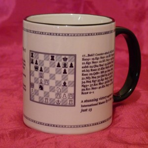 Chess Mug - Game Face 2