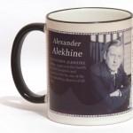 Alexander Alekhine chess mug