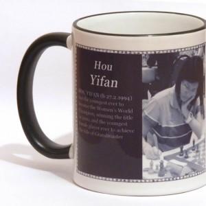 Hou Yifan chess mug