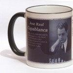 Jose Raul Capablanca chess mug