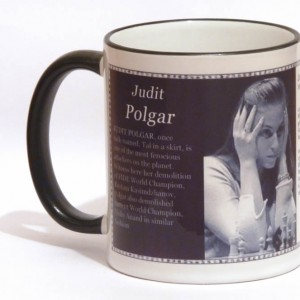 Judit Polgar chess mug