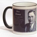 Max Euwe chess mug