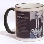 Samuel Reshevsky chess mug